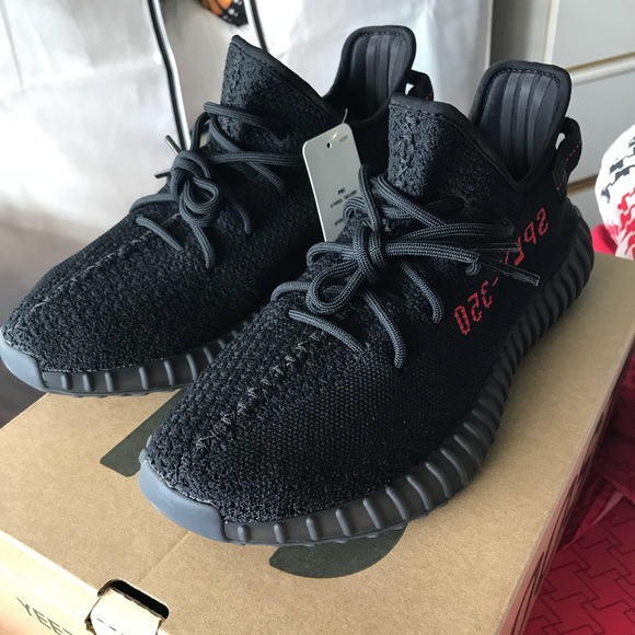"best sneakers e1b0e b493f Adidas Yeezy Boost 350 Boost V2 ""Bred"" NWT"